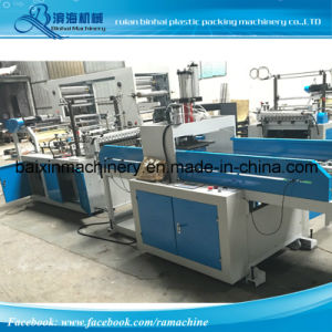 High Speed Garbage Bag Making Machine 230 PCS. Min One Line Speed pictures & photos