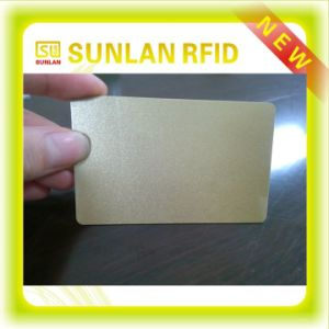 Factory Price ISO Standard Silver /Gold PVC Card pictures & photos