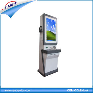 Custom Made Self-Service Bill Payment Ticket Vending Kiosk pictures & photos