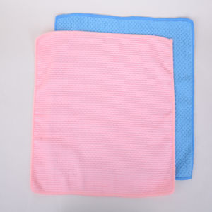 Multicolor, Ultra-Fine Fiber Cleaning Cloth, Customization, The Circle Grid pictures & photos