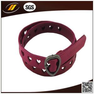 Fashion Hot Wine PU Leather Female Belts