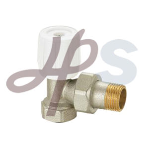Brass Forging Angle Type Radiator Valve pictures & photos