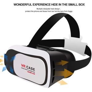 Virtual Reality 3D Glasses Vr Case for Smart Phone 3.5-6 Inch pictures & photos
