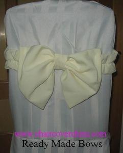 Pre-Tied Bows