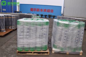 Grade II 4mm SBS Waterproof Membrane Sand Surface Glass Fiber Reinforced pictures & photos