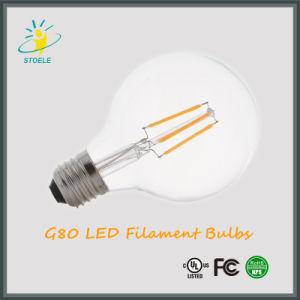 Wholesale G80/G25 4W LED Light Bulb Distributor Incandescent Lamp pictures & photos
