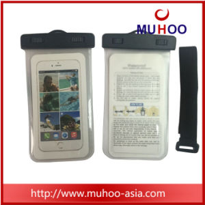 PVC Mobile Phone Waterproof Pouch Case Cover Dry Bag for Outdoor pictures & photos