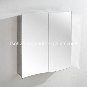 Quality Assurance Stainless Steel furniture Bathroom Mirror Cabinet (7010) pictures & photos