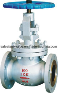 JIS Wcb Flanged Globe Valve pictures & photos