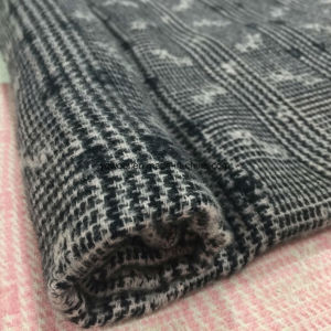 Plaid Check Jacquard Wool Fabric Ready pictures & photos
