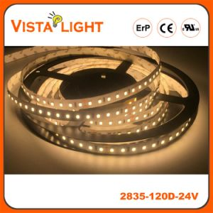 IP20 SMD 2835 Dimmable LED Tape Light for Beauty Centers pictures & photos