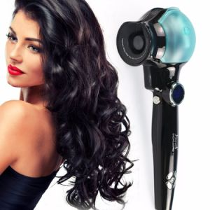 Professional Automatic Rotating Magic LCD Hair Curler pictures & photos