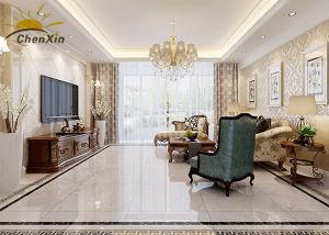 High Gloss Living Room Indoor Ceramic Tile 1764.6 Breaking Pressure