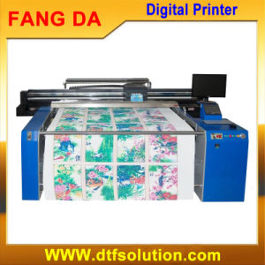 Long Belt Digital Printer for Cotton Fabric Roll Printing pictures & photos