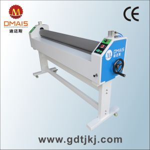 "Dmais 1.6m (63"") Warm Roll Cold Laminator for Manual Lamination pictures & photos"