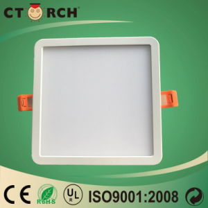 LED Plastic Square Panel Lamp High Efficiency 6W pictures & photos