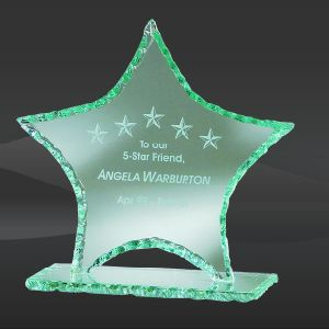 Pearl Edge Glass Star Award (CBD-GBST08, CBD-GBST09, CBD-GBST10) pictures & photos
