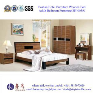 China Bedroom Furniture Modern Single Bed with Leather (SH-001#) pictures & photos