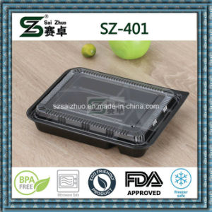 4 Compartment Disposable Plastic Food Tray pictures & photos