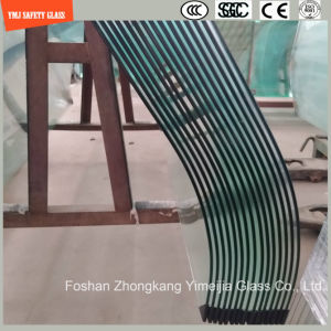3-19mm Silkscreen Print/Acid Etch/Frosted/Pattern Irregular Bent Tempered/Toughened Glass for Door/Window/Shower Door with SGCC/Ce&CCC&ISO Certificate pictures & photos