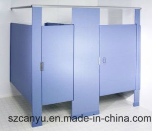 Wooden Toilet Partition Used for School / Hotel/Hospitals/Restaurants Wall pictures & photos