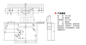 Zinc Alloy Material Door Lockbody (YS-556) pictures & photos