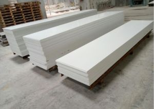 Wholesale White 12mm Acrylic Modified Solid Surface Sheet pictures & photos
