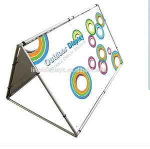 Outdoor Aluminum Poster Board Stand pictures & photos