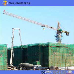 China Tower Crane Manufactures 6015 10ton Tower Crane Equipment for Construction pictures & photos