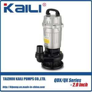 QDX Electric Submersible Water Pump (QDX3-20-0.55) pictures & photos