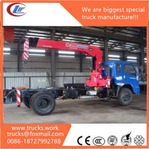 Foton Forland 4X2 4X4 Rhd Truck Mounted 2-5tons XCMG Crane pictures & photos