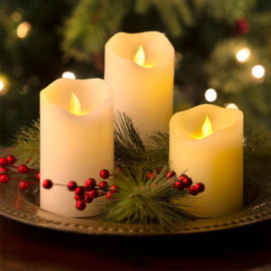 Ivory Flameless LED Candle for Home Decoration and Gift pictures & photos