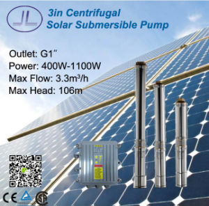 3inch Submersible Solar DC Irrigation Pump 300W-1100W pictures & photos