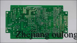 Single Side PCB with White Silkscreen (OLDQ-023) pictures & photos