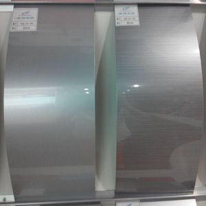 VCM Brushed Steel Sheet for Refrigerator Door pictures & photos