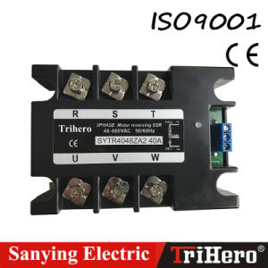 AC Input Three Phase Motor Control Module, Motor Reversing SSR Solid State Relay pictures & photos