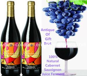 Top EU Cabernet Sauvignon Wine/Antique Gift Brut, 100% Juice Brewing, Rich Anthocyanin, Anticancer, Blood Tonicprevention Ischemic Strok pictures & photos