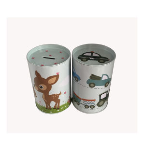 Wholesale Metal Piggy Bank Coin Box with Easy Open Lid pictures & photos