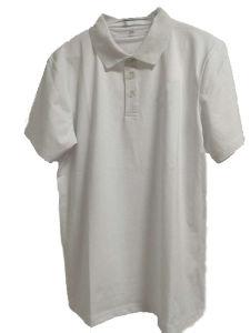 100% Cotton High Quality Wholesale Bulk Plain White Polo Shirts for Men pictures & photos