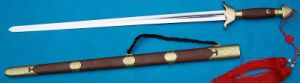 Handmade Tai Chi Sword/Engraving Brass Fittings pictures & photos