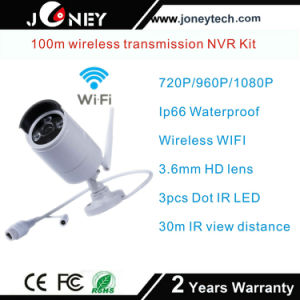 Best Quality 4/8 CH Bullet IP Camera WiFi NVR Wireless Kit pictures & photos