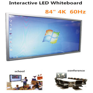 Large Size 65 84 85inch Touch Screen LED Whiteboard Display with PC for Education