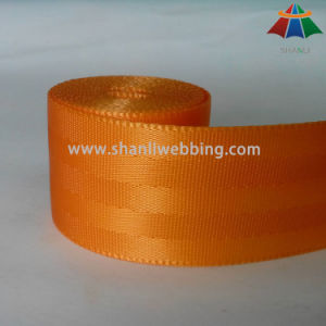 45mm 5-Panel Orange Nylon Seat Belt Webbing pictures & photos