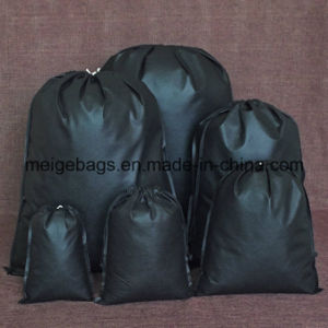 Polypropylene Drawstring Packaging Bag, with Custom Size and Design pictures & photos