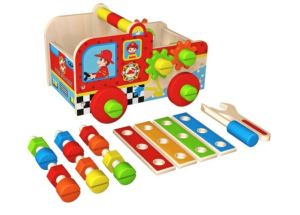 Hot Christmas Gift Wooden Tool Box Toy for Kids, Baby and Children pictures & photos