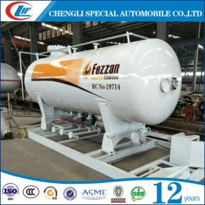 20cbm LPG Filling Plant 20000L LPG Skid Station pictures & photos