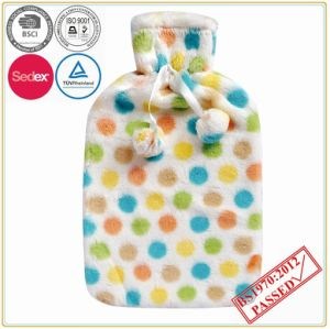DOT Design Hot Water Bottle Cover with POM POM pictures & photos