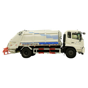 Medium Garbage Collector Gas Chassis pictures & photos