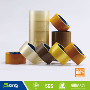 Low Noise Water-Based Adhesive BOPP Carton Sealing Tape pictures & photos