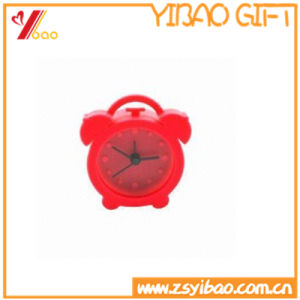 Colorful Lovely Silicone Clock for Gift pictures & photos